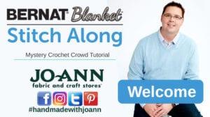 Bernat Blanket Stitch Along: Welcome