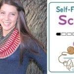 Crochet Self-Fringing Scarf Pattern