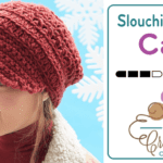 Crochet Slouchy Peak Cap + Tutorial