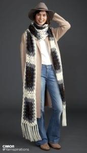 Crochet Super Scarf: Super Granny Scarf