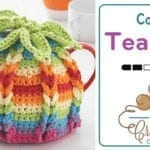 Crochet Tea Pot Cover + Tutorial