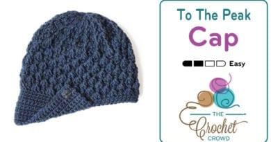 Crochet To The Peak Hat