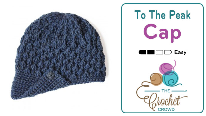 Crochet To The Peak Hat Pattern