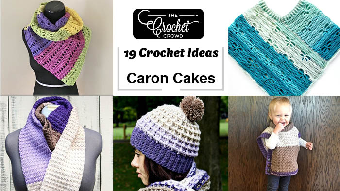 19 Caron Cakes Crochet Project Ideas