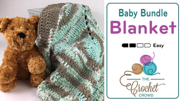Crochet Baby Bundle Blanket