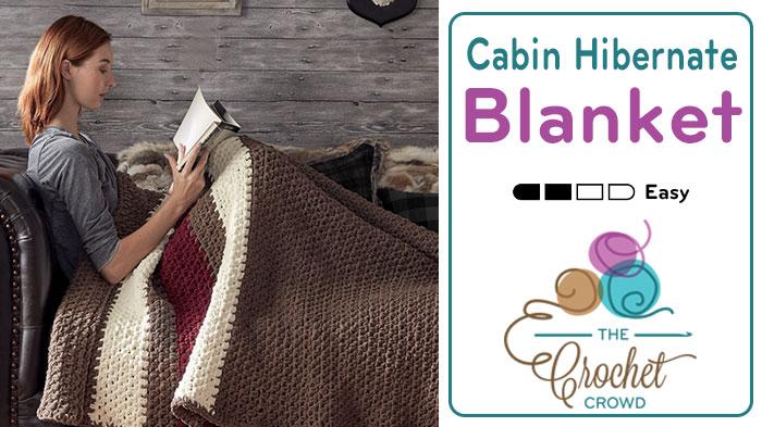 Cabin Hibernate Blanket Pattern