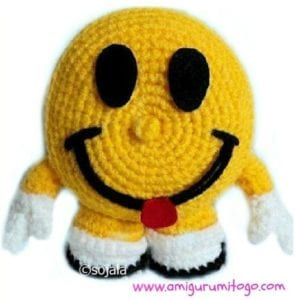 Smiley Happy Face by Amigurumi to Go