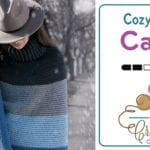 Crochet Cozy Cowl Cape + Tutorial