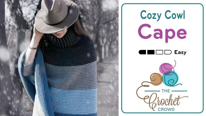 Cozy Cowl Cape aka Poncho