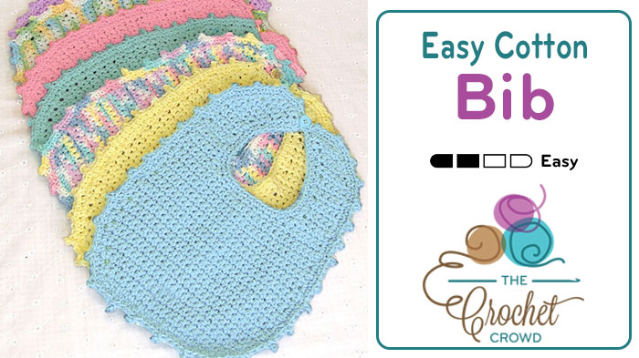 Crochet Bib Newborn Pattern