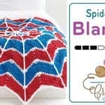 Crochet Spiderweb Blanket + Tutorial