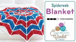 Crochet Spiderweb Blanket