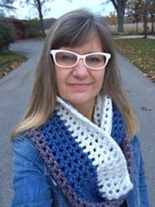 Crocheted Super Cowl by Jeanne Steinhilber