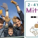 Crochet Family Mittens: 2/4 Years Old + Tutorial