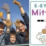 Crochet Family Mittens: 6/8 Years Old + Tutorial