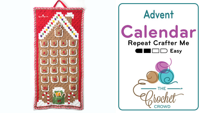 Crochet C2C Gingerbread House Pattern