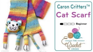 Caron Critters Cat Scarf