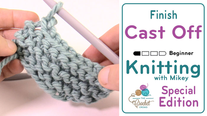 Knit Cast Off + Tutorial