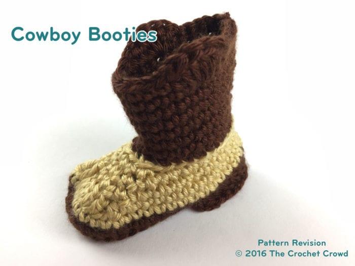 Cowboy Booties Boot Leg