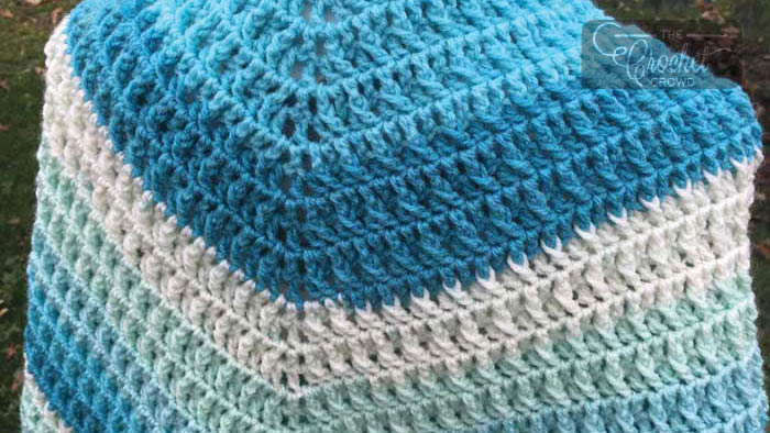 Crochet Frosted Layer Cake Shawl