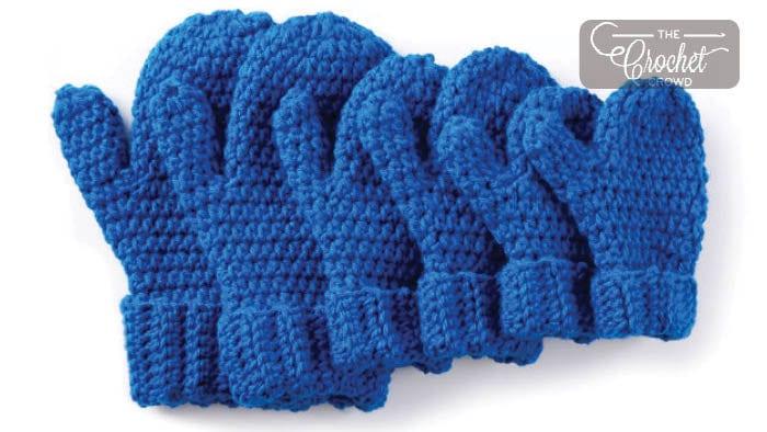 Crochet Hands Full Mittens