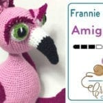 Crochet Frannie the Flamingo Amigurumi
