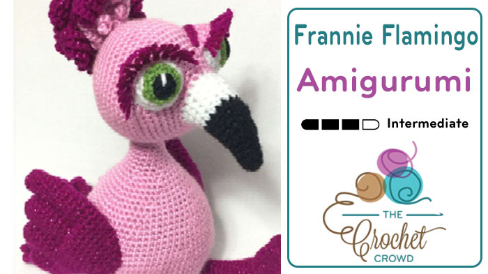 Crochet Frannie The Flamingo Amigurumi The Crochet Crowd