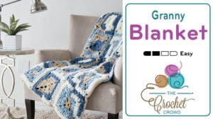 Crochet Bundle Granny Square Blanket