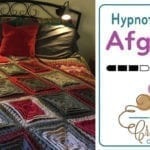 Hypnotic Tiles Afghan + Tutorial