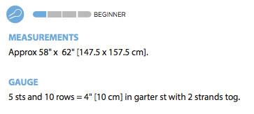 Knit Gauge Instructions