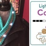 Crochet Light Up Cowl + Tutorial