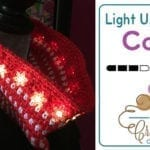 Crochet Snowflake Light Up Parade Cowl + Tutorial