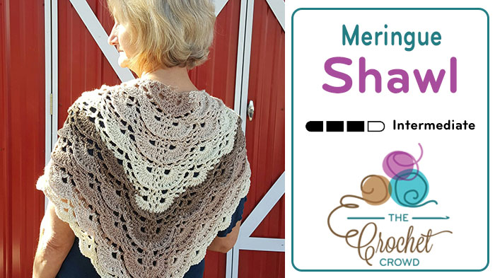 Crochet Meringue Shawl Pattern