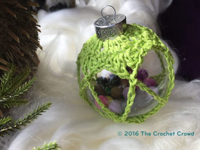 Ornament Ball by Mikey of The Crochet Crowd