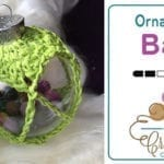 Cute Crochet Christmas Ornament