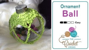 Crochet Christmas Ornament Ball