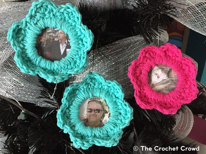 Pretty As a Picture Crochet Frames