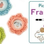 Crochet Pretty as a Picture Frame + Tutorial