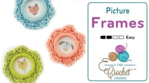 Crochet Picture Frames