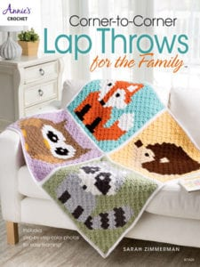 Corner to Corner Lap Throws by Sarah Zimmerman