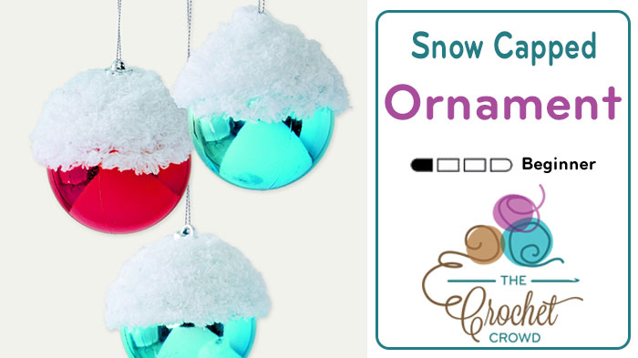 Craft Snow Capped Ornaments + Tutorial