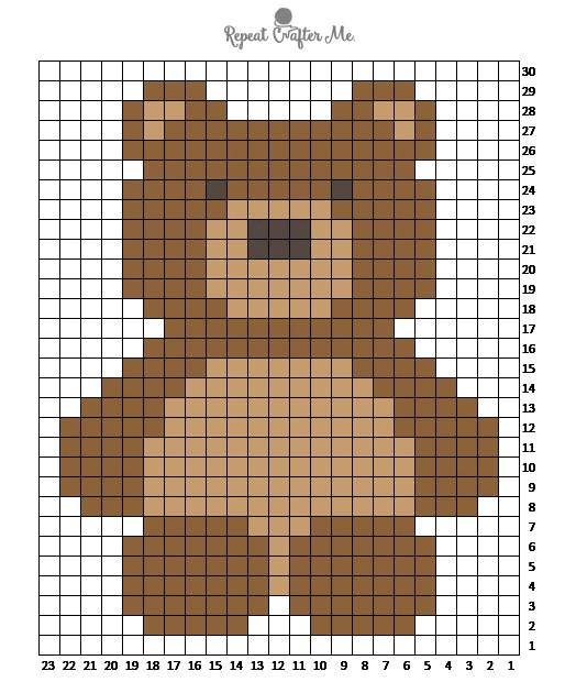 50 Free Crochet Teddy Bear Patterns ⋆ DIY Crafts | 630x514