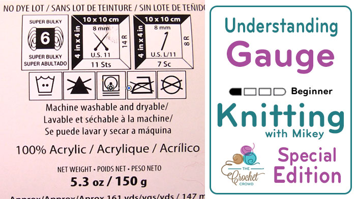 Understand Knitting Gauge & Tension