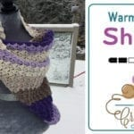 Crochet Warm C2C Shawl + Tutorial