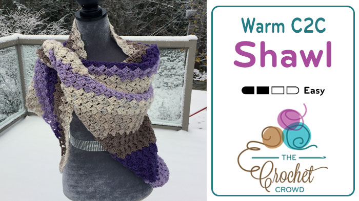 Crochet Shawls Archives | Page 3 of 4 | The Crochet Crowd