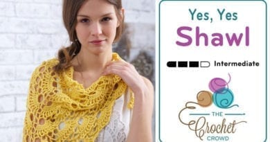 Crochet Yes Yes Shawl