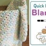 Crochet Quick Preemie Blanket Pattern