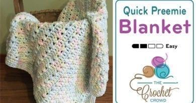 Crochet Quick Preemie Blanket by Jeanne Steinhilber