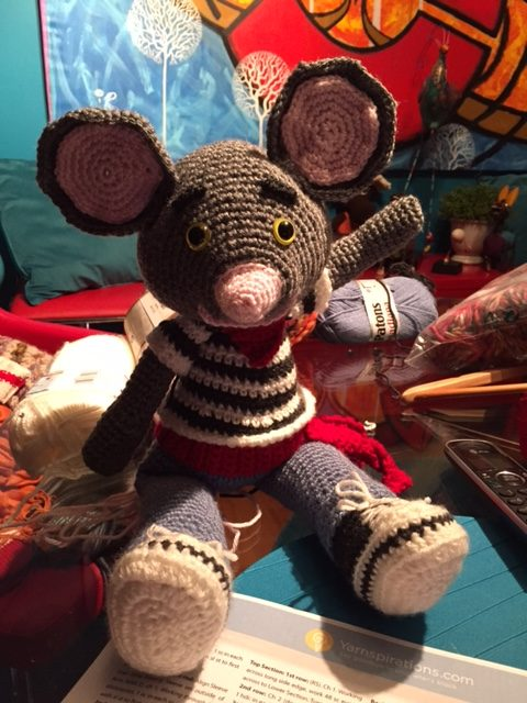 Crochet City Mouse by Yarnspirations
