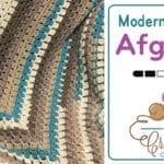 Crochet Modern Granny Afghan Pattern
